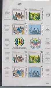 O) 1991 VENEZUELA, PROOF, PETROLEUM INDUSTRY-OIL REFINERY, PEOPLE VOTING, AGRICU