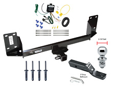 """Trailer Tow Hitch For 07-18 BMW X5 Complete Package w/ Wiring Kit & 1-7/8"""" Ball"""