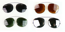 CLIP ONS for MOSCOT LEMTOSH 46 sunglasses James Dean Johnny Depp fit on frames