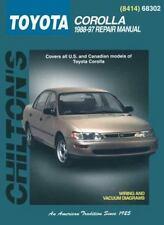 Toyota Corolla, 1988-97 (Chilton Total Car Care Series Manuals)