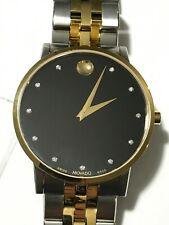 MOVADO Museum Classic Black Diamond Dial Men's Watch Item No. 0607202