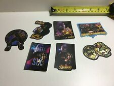 Color Avengers Stickers Thanos & Thor Lot of 14
