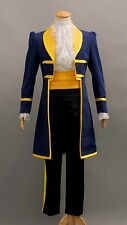 Beauty and the Beast Prince Adam Trench Coat Uniform Full Set Cosplay Costume