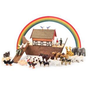 REIFENTIERE Arche Noah NEU Erzgebirge Reifentier Reifenvieh Holz Tiere Zubehör