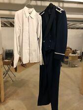 New listing Patriot Usaf Us Air Force Mess Dress Blue Jacket 44R Pants 40/32 Tux Shirt, Euc