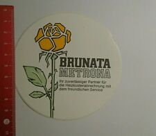 Aufkleber/Sticker: Brunata Metrona (04091636)