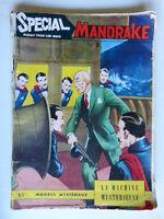 "Spécial Mandrake N°8 ""La machine mystèrieuse"" 1964"