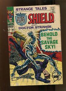 STRANGE TALES #165 (8.5) SIGNED BY STERANKO! 1968