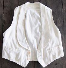Excellent Condition Classic Vintage 1930's Tuxedo Vest-FRANK THOMAS Co.