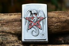 Zippo Lighter - Dragon Magic - European - Anne Stokes Designed - Pentagram