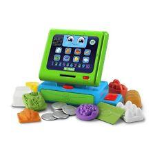 Toy -LeapFrog Count Along Cash Register,8 Color Food Pieces,10 coins &A ShopCard