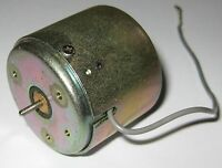 Quiet Cassette Motor DC Motor - 12 V - 3400 RPM - Low Current Draw - 2 mm Shaft