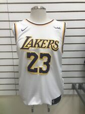LeBron James los Angeles Lakers Jersey para hombre XL Blanco ** envío de Estados Unidos