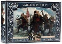 A Song Of Ice y Dispara - Umber Berserkers Paquete de Expansión Juego Miniaturas