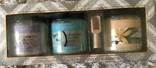 Bath Salts Spa Luxetique Gift Set Of 3 Salts W Scoop! Lav Vanilla Coconut New
