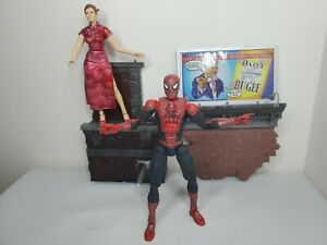 """Marvel Toybiz 6"""" Spiderman 2 Super Poseable 46 Points Articulation Tobey Maguire"""