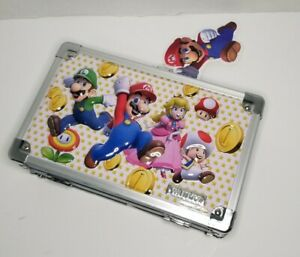 NEW Vaultz Super Mario Bros Design Locking Pencil Supply Storage Box w/Keys