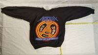 Vtg  Anthrax 1989 British tour Sweatshirt . NOT  a  reprint. Iron Maiden  SLAYER