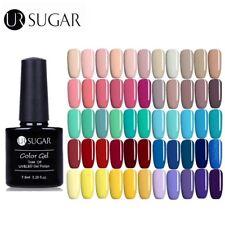 6 frascos de UV Gel Nail Polish Soak Off Gel de Color Barniz manicura de las decoraciones de azúcar UR