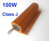 2Pcs 100W Watt Power Metal Shell Wirewound Resistor 0.1 Ω ~ 6.8Ω ohm Class J ±5%