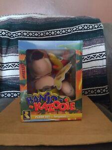 "Banjo-Kazooie Plush Set 9"" & 6"" Official Rare Plushie Posable Figure Limited Box"