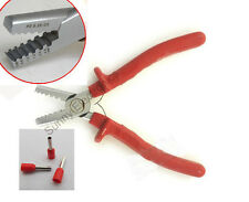 Mini Small Cable End-Sleeves Ferrules Crimping Tool Crimper plier 0.25-2.5mm2