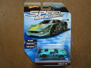 Hot Wheels Speed Machines Ford GT LM Unopened Race Car #6 Sports Rally Racing NW
