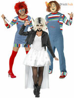 Adult Ladies Mens Chucky Costume Halloween Fancy Dress Horror Movie Childs Play