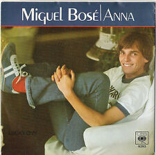 "7"" Vinyl Single Miguel Bose"