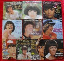 """10 Singles Single 7"""" Sammlung von MIREILLE MATHIEU - Vinyl Schallplatten"""
