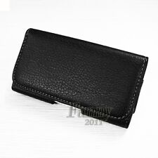 Pouch Holster Leather Belt Clip Case Cover for Sony Xperia SP HSPA C5302,M35h
