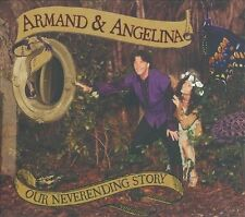 Our Never-ending Story by Armand & Angelina (CD, 2010, Angel Spirit Music)