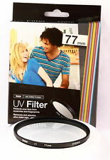 Filtro Multicapa UV 77mm Vivitar para Canon Nikon Sony Pentax Olympus Tamron