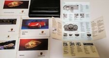 2001 PORSCHE BOXSTER S OWNERS MANUAL HANDBOOK CDR CR 220 OWNER LEATHER BOOK(Fits: Porsche)