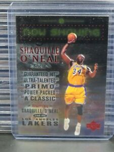 1999-00 Upper Deck Shaquille O'Neal Now Showing #NS13 Lakers R955