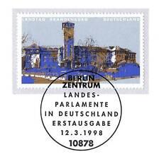BRD 1998: Landesparlament in Potsdam Nr. 1975 mit Berliner Sonderstempel! 1604