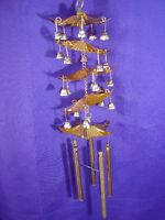 5-Layer Feng Shui Metal Pagoda Wind Chime