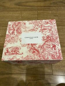 Dior Red Box TOILE DE JOUY Limited Edition 2021 LIKE NEW & AUTHENTIC