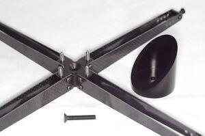 "Newtonian Reflector Telescope Spider W/ Secondary Mirror Holder F/ 10"" Caliber"
