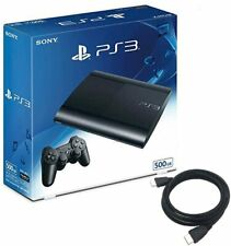 SONY PS3 Playstation 3 500GB Console System Charcoal Black CECH4300C