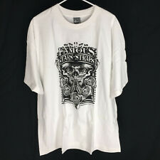 Famous Stars and Straps Shirt Size XXL Skull Roses NEW 2XL