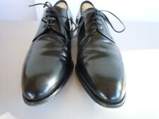 CHRISTIAN DIOR Black Leather Made Italy Oxfords Men's Sz EU 44.5  US apx 11 M