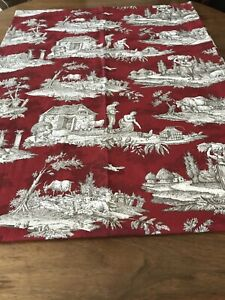 Williams Sonoma Toile Table Cloth Set