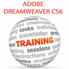 Adobe Dreamweaver CS6 tutorial de formación de vídeo DVD