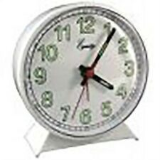 Keywound Alarm Clock,No 2056At, Geneva/Advance Clock Co, 3Pk