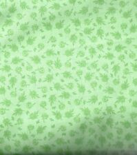 Compose Flowers and Leaves green branches David  fabric