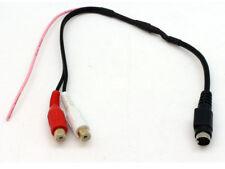 AUDI A2 A3 A4 A6 A8 TT AUX IN -RCA MP3 IPOD TO OEM LEAD