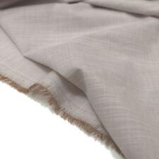 Designer KleiderStoff Leinenoptik luftiger Bekleidungsstoff Hemd Bluse Meterware