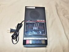Vintage 1970s Hamilton Ha800 Portable Cassette Player Program Data Recorder 7843