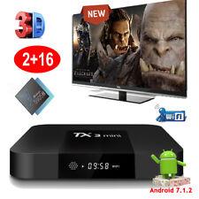 2018 Android 7.1.2 nougat TX3MINI Amloogic S905W Quad core Smart TV BOX 2+16GB